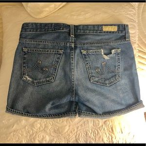 AG Hailey denim shorts